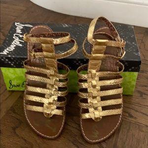Sam Edelman Gilda Boa Snake Print sandals